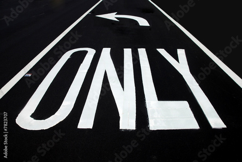 poster of Left turn only or liberal politics direction