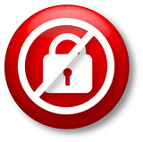 Unsecure Icon poster