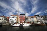 Copenhagen in Denmark – A sunny day in Nyhavn poster