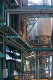 usine industrie installation métalurgie produit matière rejet poster