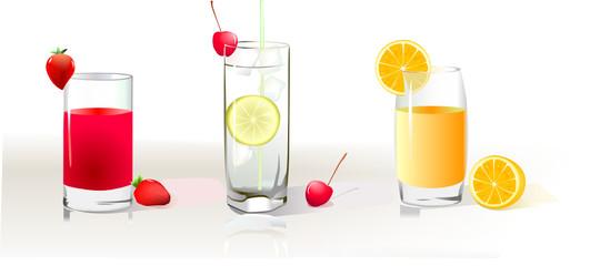 three icons drinks