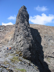 Inaccessible Pinnacle, Cuillins