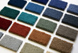 Samples of color of a carpet covering - 7845385