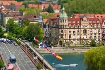 Rheinbrücke in Konstanz, Bodensee