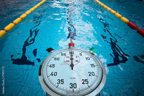 piscine jeux olympique ligne eau compétition natation nager reco - 7850730