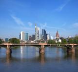 Panorama von Frankfurt