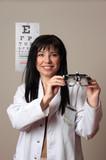 Vision eye checkup poster