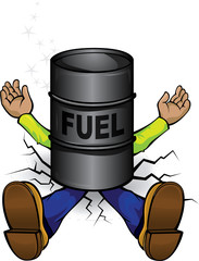 Crash by fuel prices