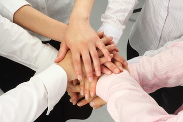 Dynamic Business Team - Hands