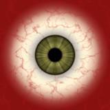 Eye map poster