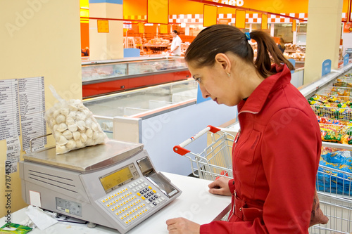 supermarket with self-service