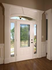 Luxury Model Home front door