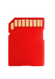 color memory sd card data storage device poster