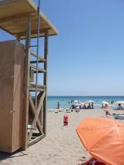 puesto de socorrista en cala nova - Ibiza - Eivissa