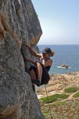 Klettern nahe Ajaccio/Korsika