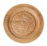 Hand maden wooden plate poster