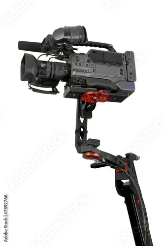 camcorder on crane