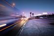 Leinwanddruck Bild - Traffic at Las Vegas Blvd., Las Vegas, USA.