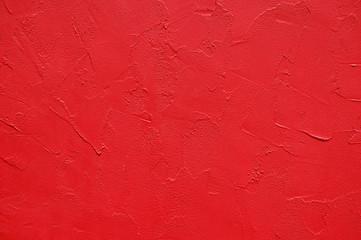 Dark-red stucco texture