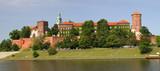 Panorama of Wawel Castle in Krakow poster
