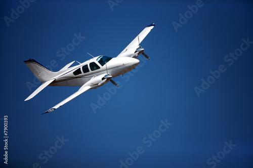 Deurstickers Vliegtuig Small aeroplane