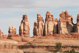 Rock formations in Canyonlands