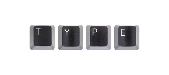 Keyboard keys - TYPE
