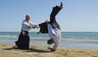 aikido on the beach