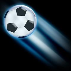 football diagonal blue