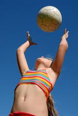 Kind beim Sport