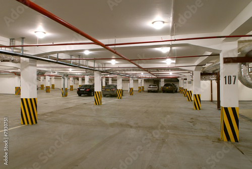 Underground parking - 7930751