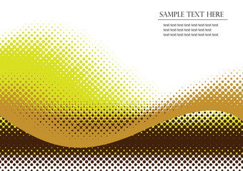 Halftone background. Vector illustration