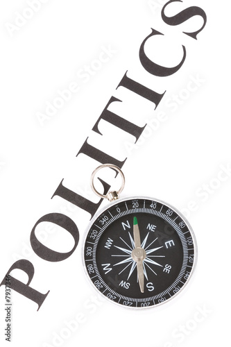 poster of headline politics and Compass