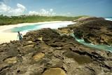 Mar Chiquita Cove & Cueva de las Golondrianas in Puerto Rico poster