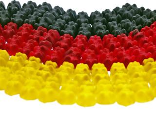 gummibärchen,schwarz,rot,gold,olympic,sport,deutsche mannschaft