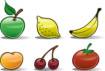 Fruit Icons Basic #2