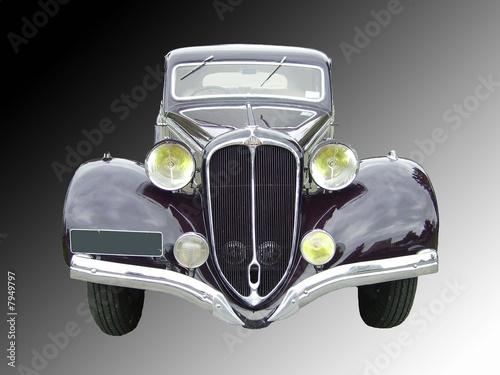 Vieille voiture Delahaye