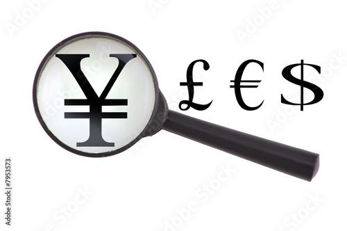 Yen magnified