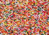 Colourful sprinkles poster