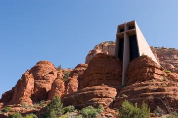Chapel of the Holy Cross in Arizona