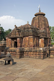 Mukteshvara Hindu Temple in Bhubaneswar, Orissa. 10th Century AD poster