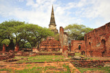 Thailand Ayutthaya Phra Sri Sanphet poster