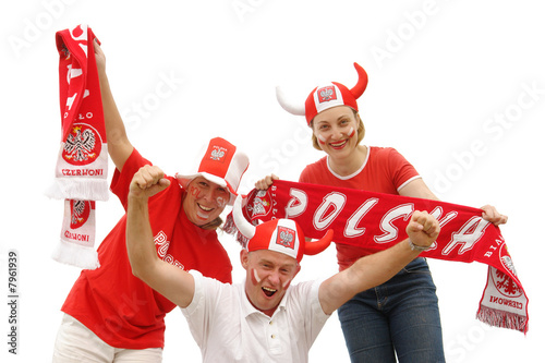 Polish soccer fans - 7961939