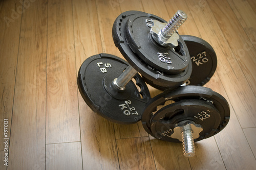 Free Weight Dumbells