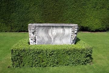 garden ornament. garden decoration. architecture. sculpture