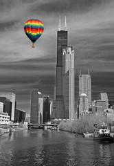 The Chicago Skyline © Gary
