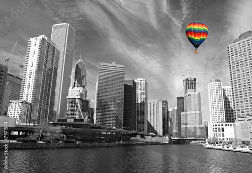 The Chicago Skyline - 7971544