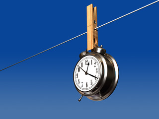 Drying clock