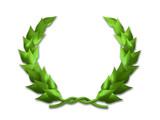 Leaf crest poster