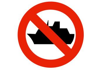 Interdiction aux navires (détouré)